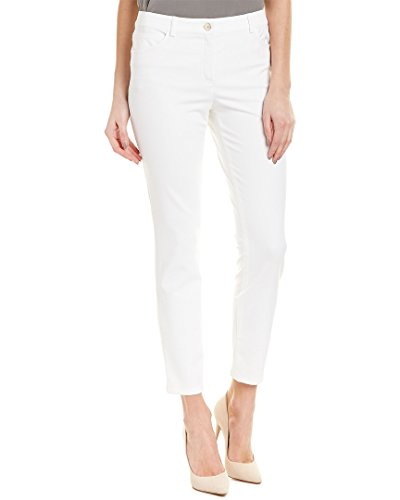 Escada Sport Womens White Straight Leg, 34, White