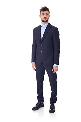 Camicia manica lunga uomo Premium Jack & Jones celeste
