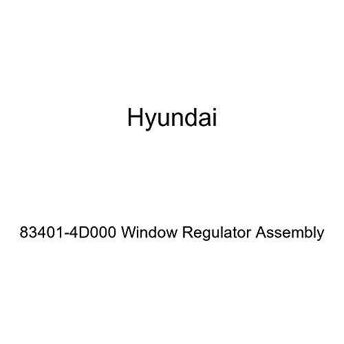 Genuine Hyundai 83401-4D000 Window Regulator Assembly