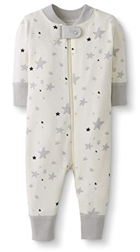 Moon and Back by Hanna Andersson Unisex Baby One Piece Footless Pajamas