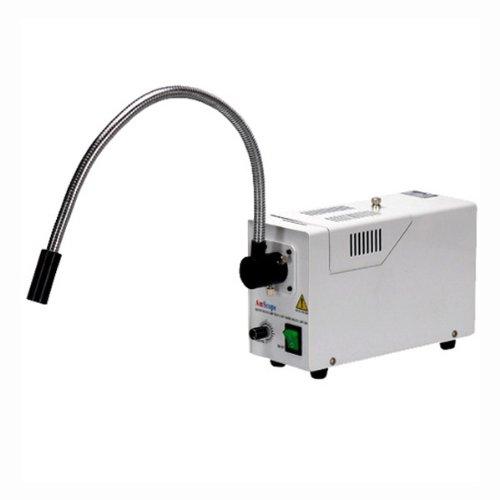 AmScope HL250-AS Single Fiber Gooseneck Microscope Illuminator 150W