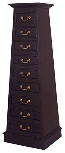(NES Furniture Fine Handcrafted Solid Mahogany Wood Cairo Dresser, 61 Inches,)