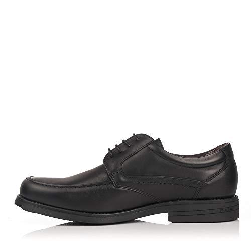 Chaussures À 9300 Homme De Ville Pour Lacets Noir Fluchos OwqZ7pgHw