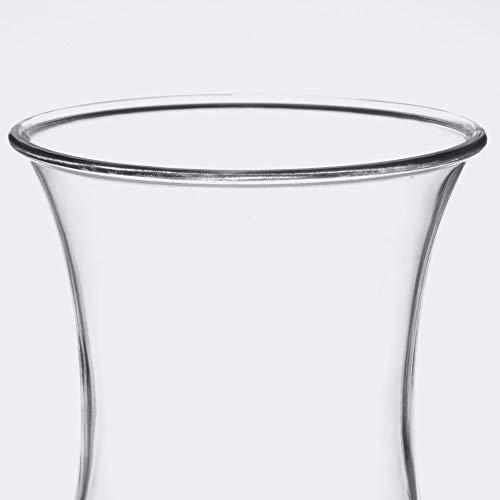 15 oz. Clear Plastic Hurricane Glasses, Break Resistant, Dishwasher Safe, Reusable, GET HUR-1-CL (Qty, 12) by Unknown (Image #4)