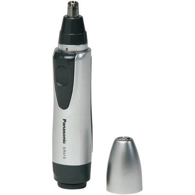 Panasonic Nose and Ear Trimmer, Rubberized Non-Slip Grip
