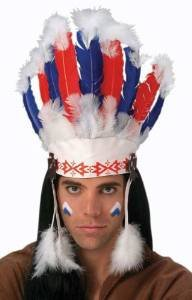 Rubie's Costume Co. Chief Headdress, One Size, Multicolor - http://coolthings.us