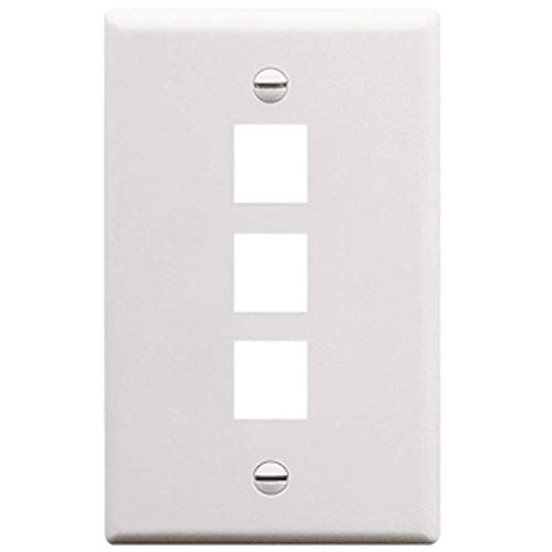 IC107F03WH - 3Port Face White - 3 Port Ic107f03wh