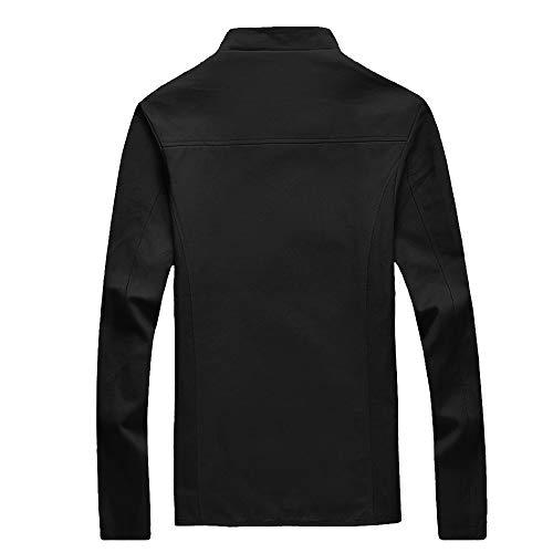 Manteau Avec Sweatshirt Hiver Homme Chaud Homme Longues Black Capuche Shirt Sweat Manches Capuchon Pullover Chemisier Hommes Tops Éclair Oversize Beautytop Sweater Automne À Pull Veste TA8qdT