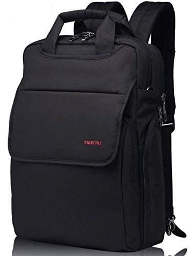 - Kuprine 14 inch Lightweight Slim Business Laptop Backpack for Women Men's Work Laptop Convertible Messenger Bag Water Resistant College Students Notebook Computer Backpack