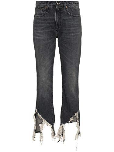 R13 Women's R13w0019899 Grey Cotton Jeans