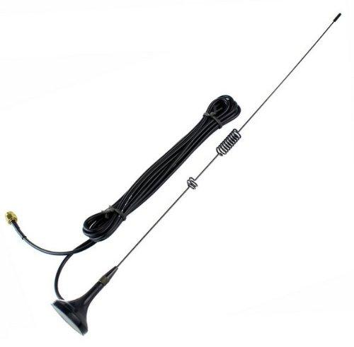EmBest Dual Band SMA-M UV Antenna for YAESU VX-2R TONGFA UV-985 BF- UV3R by Two way radio