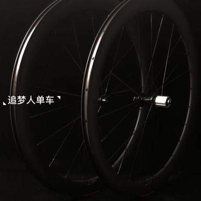 Carbon Road Cutter Wheel Set 50mm 40mm Thick Carbon Fiber Ring Opening 700C Road Bicycle tire Tubes The SF Consumption