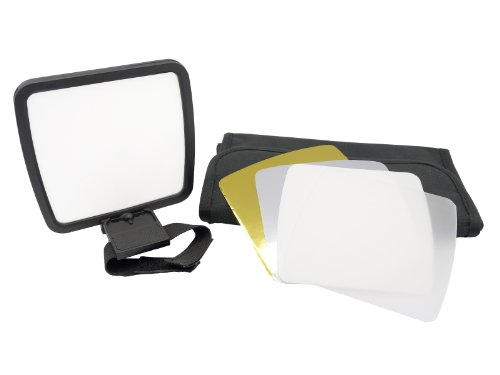 Gadget Place 7-piece Flash Diffuser / Reflector Kit for Olympus FL-900R by Gadget Place