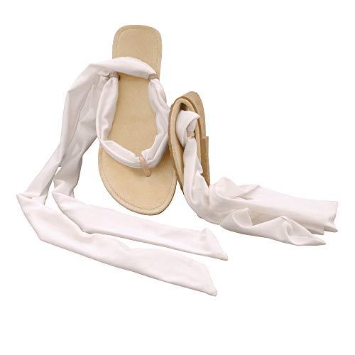 Party Blu Ballerinaâ® Pocket 39 Scholl's E Misura Bianco Lycra Dr Feetâ® 40 Infradito Colore qvIwn65
