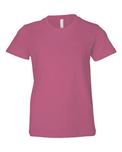 Bella + Canvas Boys Youth Jersey Short-Sleeve T-Shirt