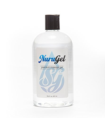 Premium Nuru Gel by SG | 18.6 Ounces | Super Thick Gel Made From Seaweed For the Ultimate Body-on-Body Nuru Massage | Made In the USA from Top Quality Ingredients