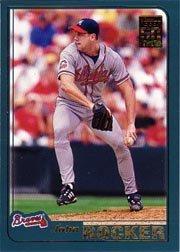 2001 Topps Baseball Card #619 John Rocker Near Mint/Mint (Cards Baseball 2001 Topps)