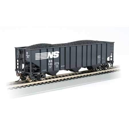 Bethleham Steel 100-Ton Three-Bay Hopper Norfolk Southern #145275 - HO Scale