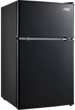 Arctic King 3.2 cu ft 2-Door Compact Refrigerator, Black