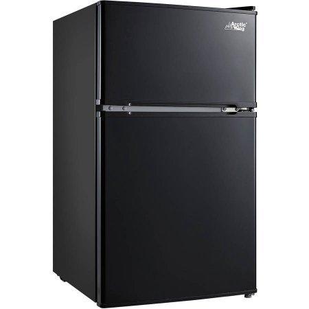 Arctic King 3.2 cu ft 2-Door Compact Refrigerator, Black