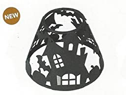 Haunted House Shade for Medium Woodwick Hourglass Candle