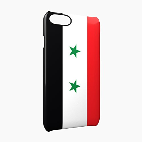 Flag of Syria Glossy Hard Snap-On Protective iPhone 7 Case Cover