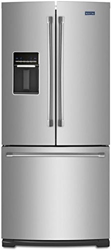 Maytag MFW2055DRM 19.6 Cu. Ft. Stainless Steel French Door Refrigerator