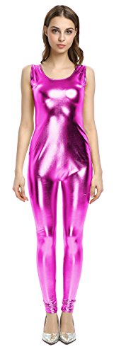 Barbie And Ken Costumes For Kids - WOLF UNITARD Women's Jumpsuit Shiny Cat