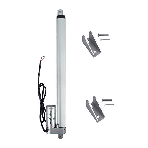 "ECO-WORTHY Heavy Duty 330lbs Solar Tracker Linear Actuator Multi-function (12V, 14"")"
