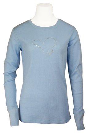 Scrub Stuff - Bling Heart-Heal Thermal Shirt - Large -