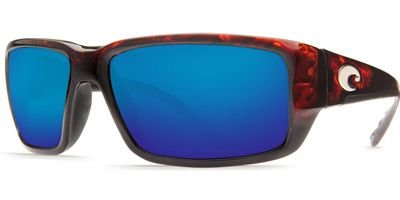 Costa Del Mar Fantail 400G Fantail, Tortoise Frame Blue Mirror, BLUE Mirror by Costa Del Mar