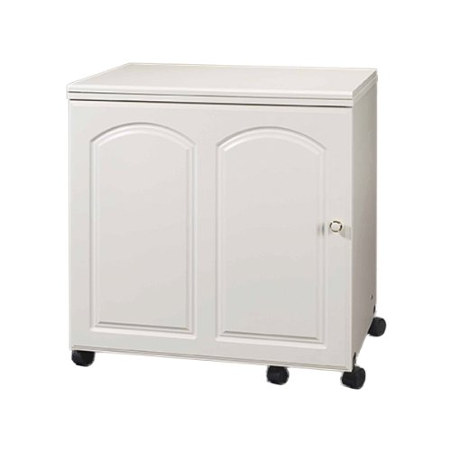 Model 4400 Limited Space Sewing Console Space Saving Cabinet With Electric Lift White