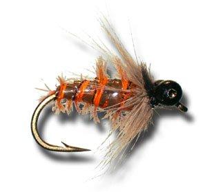 10月Caddis Nymphフライ釣りフライ Size 10月Caddis 10 B00KD88RC2 Size - 6 Pack B00KD88RC2, 販促イベント屋:68c73935 --- sharoshka.org