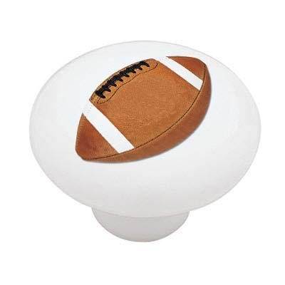 Football Ceramic Drawer Knob