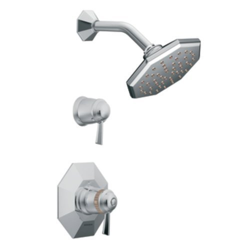 Moen TS3412 Felicity Exacttemp R Shower Only, Chrome by Moen (Felicity Moen Shower Exacttemp)