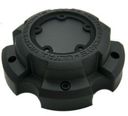 Ultra Motorsports Matte Black Wheel Center Cap QTY 1 Pn: 89-9850B (WITH -