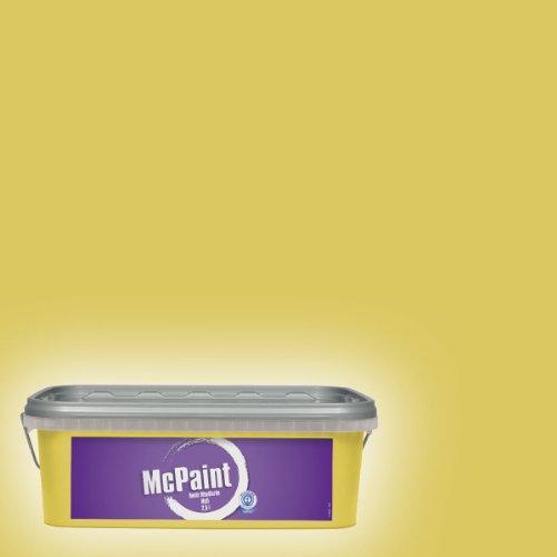 McPaint Bunte Wandfarbe matt Lemongrass  2,5 Liter