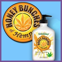 It's Delicious Devoted Creations Honey Bunches of Hemp Naturally Nourishing Body Moisturising Lotion 360ml