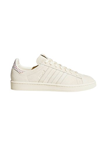 adidas Women's Campus Trainers Cream White-trace Pink-trace Scarlet 7OJLV