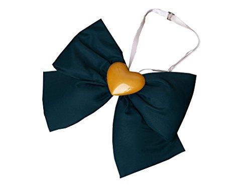ICEMPs Cosplay Costume Accessory Sailor Venus Aino Minako Navy Collar Bowknot