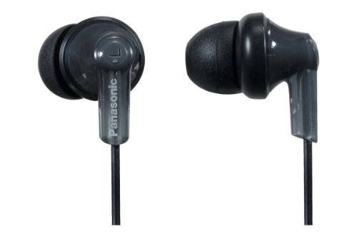 Panasonic RP-TCM120-K Stereo Earbuds with Microphone for iPh