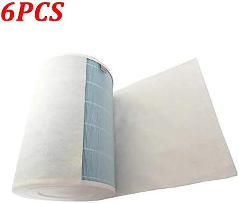 SUJIE Filtro para Aire Acondicionado 6PCS 70x30cm algodón electrostática for Philips Xiaomi MI acondicionador de Aire purificador de Aire Pro / 1/2 Polvo Filtro HEPA Filtrar: Amazon.es: Hogar