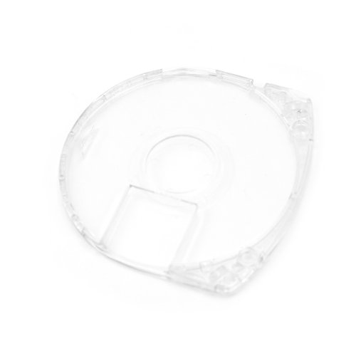 (10x Crystal UMD Game Disc Holder Shell Case Cover Replacement For Sony PSP Clear)