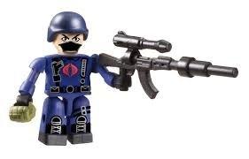 GI Joe Kre-o Cobra Trooper Kreon Series 1 Sealed in