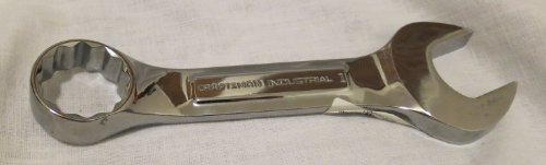 (Craftsman Professional Use Inch Full Polish 12pt Stubby Combination Wrench Open Stock)