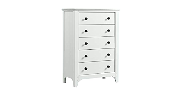 Westwood Design Tahoe 5 Drawer Chest Sea Shell Baby