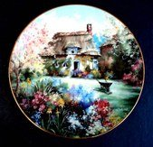 Cottage Marty Bell (Chaplain's Garden by Marty Bell Collectible 8 1/2