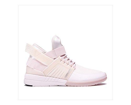 Supra - Mens Skytop V High Top Sneakers, Size: 11.5 D(M) US, Color: Light (Light Pink Leather Footwear)