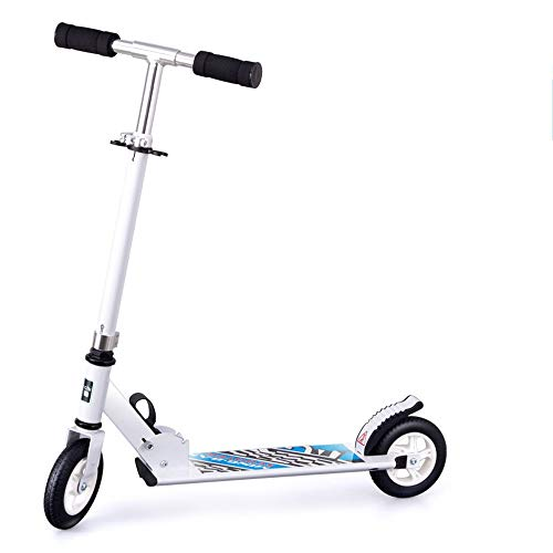 FDSjd Scooter King Scooter Folding Two Wheels Three Wheels Yo-Yo Beginner Big Boy Scooter (Color : White, Edition : Two Rounds) by FDSjd (Image #6)
