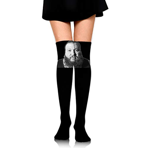Gordon M Albers Action Bronson Unisex One Size Classic Over Knee High Socks 60cm Thigh High Stockings ()
